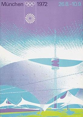 1972年慕尼黑奥运会海报