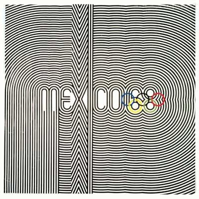 1968年墨西哥奥运会海报