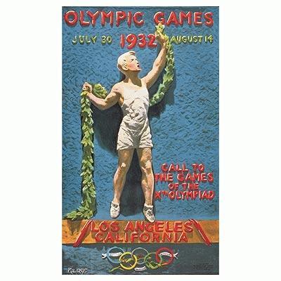 1932年洛杉矶奥运会海报