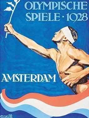 1928年阿姆斯特丹奥运会海报
