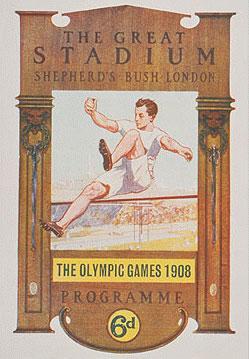 1908年伦敦奥运会海报
