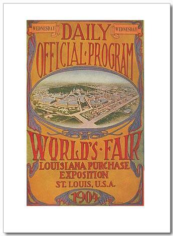 1904年圣路易斯奥运会海报