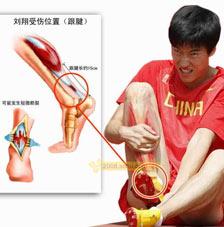 刘翔伤势系统分析