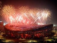 <center>北京奥运会开幕式盛况</center>