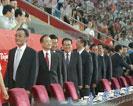 国家主席国际奥委会主席及贵宾入场