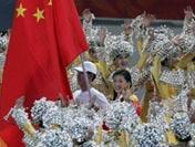 张宁担任中国代表团旗手