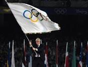 伦敦市市长接过奥林匹克会旗