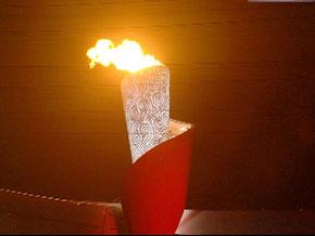<center><h5>2008北京第29届奥运会圣火熄灭</h5></center>