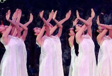 2008北京奥运会放飞和平鸽